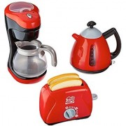 PlayGo My Coffee Maker/My Toaster/Tea Time Kettle Chef Kitchen Collection
