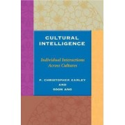 Cultural Intelligence by P. Christopher Earley