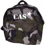 Junior camouflage rugzak met naam bedrukt