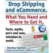 Drop shipping and ecommerce, what you need and where to get it. Drop shipping suppliers and products, payment processing, ecommerce software and set up an online store all covered. by Christine Clayfield