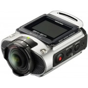 Camera video de actiune Ricoh WG-M2, Filmare 4K, WiFi (Argintie)