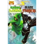 Project Superpowers N° 1 : Introducing Black Terror And The Green Lama