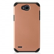 Coque Hybride Rigide Pour Lg X Power 2, Rose Gold Doré