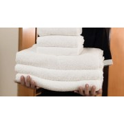 Asciugamano Viso salvietta 6 pezzi spugna Forniture albergo alberghiere bagno