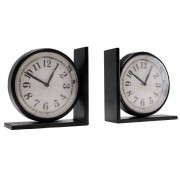Maisons du monde 2 orologi reggilibro LARRY