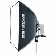 SMDV Speedbox-55 - softbox patrat blit extern, 53cm
