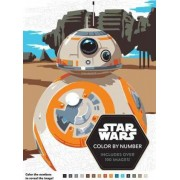 Star Wars Color by Number by Lucas Film Book Group