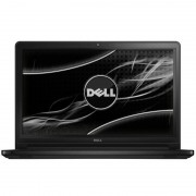 Laptop Dell Inspiron 5558 15.6 inch HD Intel i3-5005U 4GB DDR3 1TB HDD Linux Black