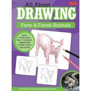 All About Drawing Farm & Forest Animals by Robbin Cuddy