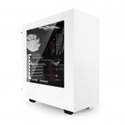 Boîtier NZXT Source 340 Blanc - MT/Sans Alim/ATX/USB3