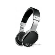 Casti KEF M500, negru/argintiu