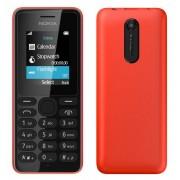 Nokia 108 Single Sim Red