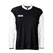 Derbystar Primera Long Children's Tricot Football Jersey - Black, 140/152 cm