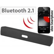 Portabler Bluetooth-Lautsprecher mit MP3-Player und FM-Radio, 15 Watt