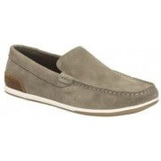 Clarks Medly Sun Sage Suede Casual Shoes(Tan)