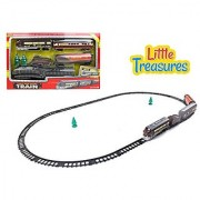 Train Station Steam Engine On Tracks Play Set - Great Toy For Children Who Love Trains