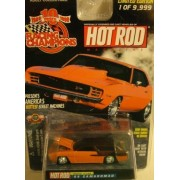 RACING CHAMPIONS HOT ROD MAGAZINE DRAG RACING SERIES ISSUE #146 1 OF 9,999 1968 CAMAROMAD DIE-CAST