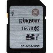 Card de Memorie Kingston SDHC 16 GB Class10 Gen2 Video