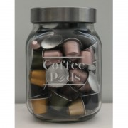 Coffee Pods 2L Storage Jar