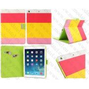 """Apple iPad Air (калъф кожен) """"Multy Color Style"""""""