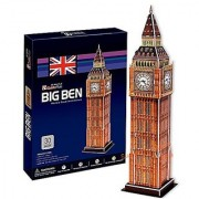 Paiper 3D Puzzle 94 Pieces: Big Ben With Working Clock