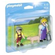 Playmobil 5514 - Duo Pack Contadina e Figlio