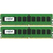 Kit Memorie Server Crucial ECC UDIMM 2x8GB DDR4 2133MHz CL15 Dual Rank x8