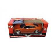 2011 Dodge Charger R/T Hemi Metallic Orange 1/24 by Motormax 73354