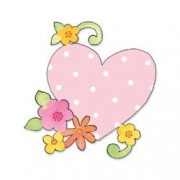 Sizzix(R) Bigz Die - Heart with Flowers & Vine
