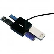 Hub USB Hama 4 porturi fara sursa negru