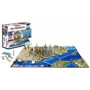 4D Cityscape San Francisco History Time Puzzle
