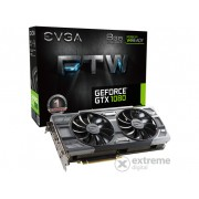 Placa video EVGA nVidia GTX1080 8GB DDR5 FTW Gaming ACX 3.0 - 08G-P4-6286-KR