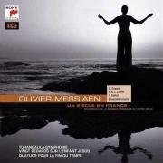 Turangalila Symphonie,Vingt Regades sur l'enfant Jesus,Quator pour la fin du temps - Oliver Messiaen: Un siecle en France (4CD)