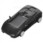 Solar Powered Toy Car - Noir