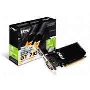 Micro-Star International Msi GeForce Gt 710 1GB DDR3 Lp Vga Dual-Link Dvi-D Hdmi Pci-E Graphics