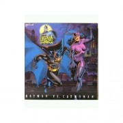 "Legends of Batman BATMAN vs CATWOMAN 12"" Action Figures (1996 Hasbro) by Hasbro"