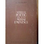 Stilul Poetic Al Lui Mihai Eminescu - L.galdi