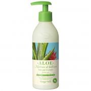 Aloe - Lapte de corp hidratant si calmant, cu extract de Aloe Vera