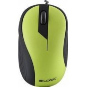 Mouse Optic Logic Concept LM-14 Negru-Verde