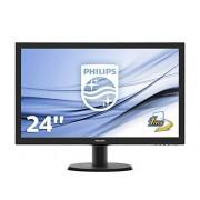 "Philips 243V5LHAB LCD Monitor 23.6 """