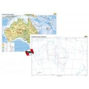 Australia şi Noua Zelanda – Duo 160x120 cm