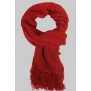 Yancy dámská zimní šál tmavě červená