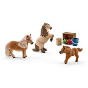 Schleich North America Miniature Shetland Pony Family Toy