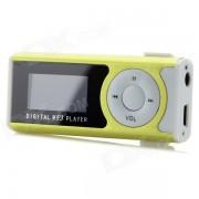 """""""Mini 1.2 Player """"""""Pantalla OLED MP3 w / linterna / TF / Mini USB / 3.5mm - verde + blanco"""""""