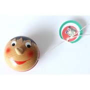"Yoyo 2"" Pinocchio Wooden Original Pinocchio Yoyos Made In Italy"