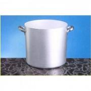 Pentola cilindrica da 36 cm alluminio radiante con maniglie inox