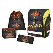 Ghiozdan ergonomic echipat, HERLITZ Midi Plus Formula 1
