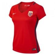 Camiseta de fútbol para mujer Norway de local para aficionados, temporada 2016