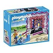 Playmobil 5547 Summer Fun Amusement Park Tin Can Shooting Game