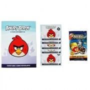 Rovio Entertainment Angry Birds 1 Sticker 1 Dog Tag Fun Pack and 5 Pack of Stickers